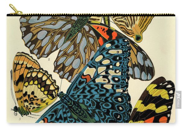 Butterflies, Plate-3  Carry-all Pouch
