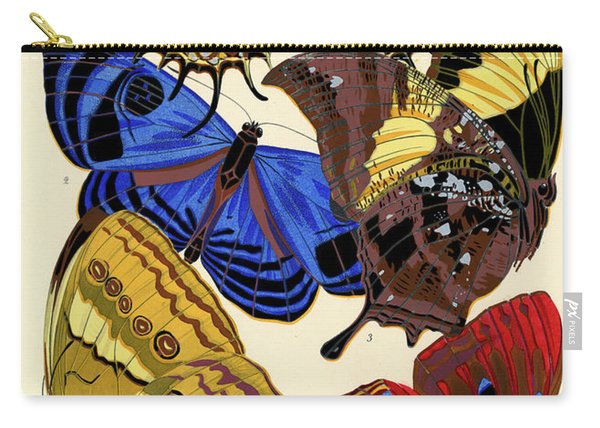 Butterflies, Plate-4  Carry-all Pouch