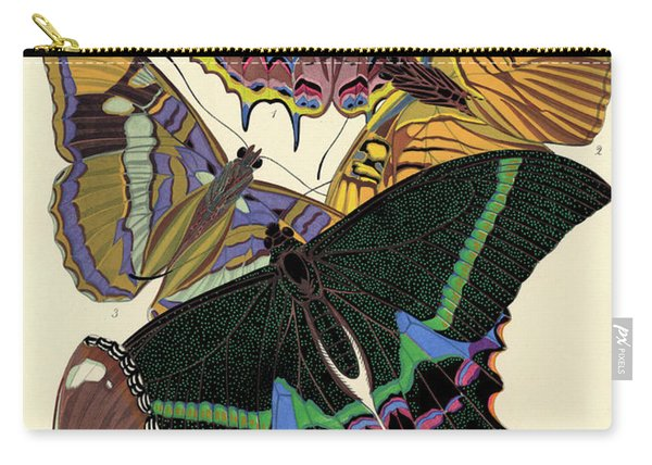 Butterflies, Plate-8  Carry-all Pouch