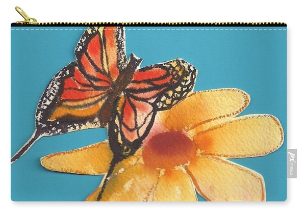 Butterflower Carry-all Pouch
