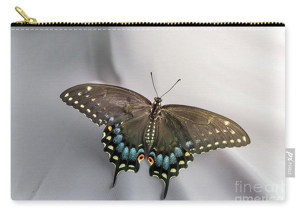 Butterfly At Picnic Carry-all Pouch