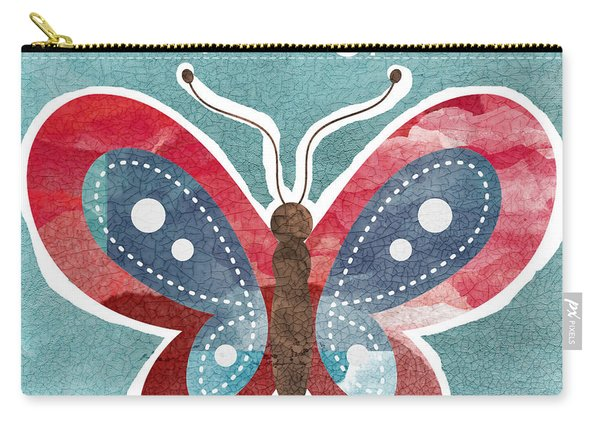 Butterfly Freedom Carry-all Pouch