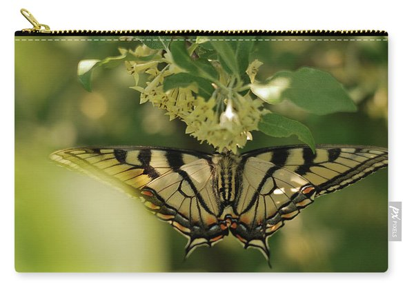 Butterfly From Another Side Carry-all Pouch