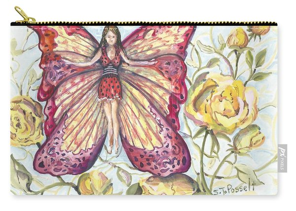 Butterfly Grace Fairy Carry-all Pouch