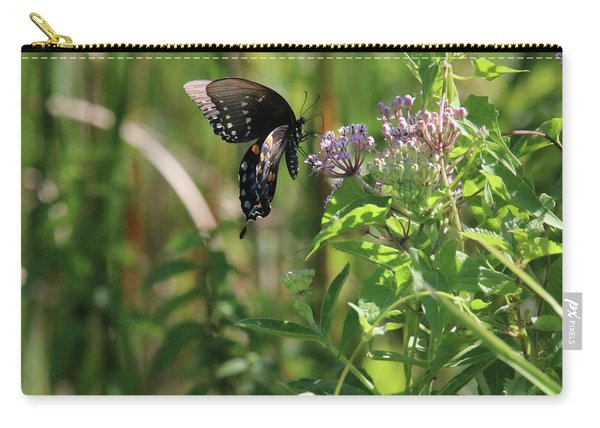 Butterfly In The Sun Carry-all Pouch