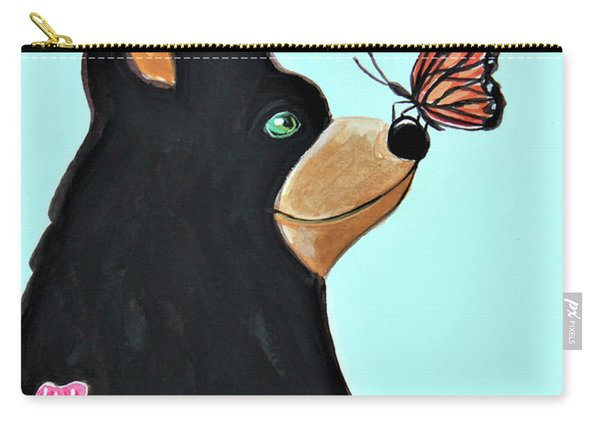 Butterfly Kisses 2 Carry-all Pouch