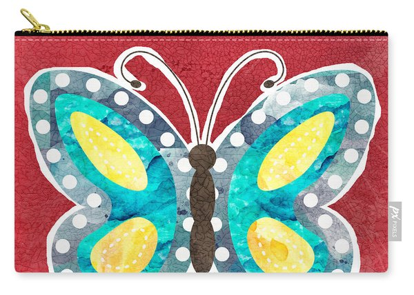 Butterfly Liberty Carry-all Pouch