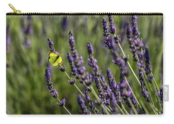 Butterfly N Lavender Carry-all Pouch