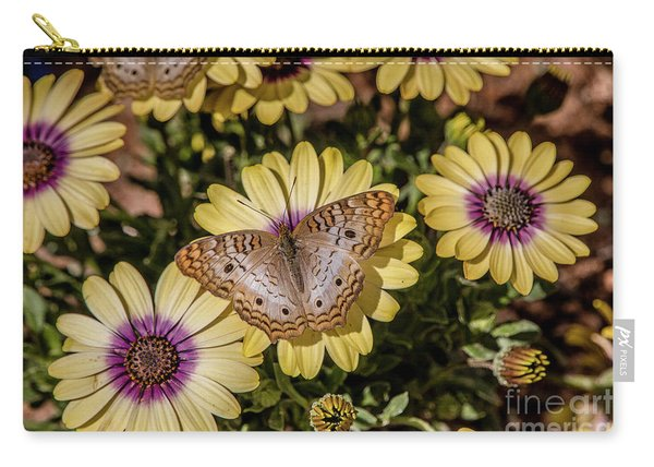 Butterfly On Blossoms Carry-all Pouch