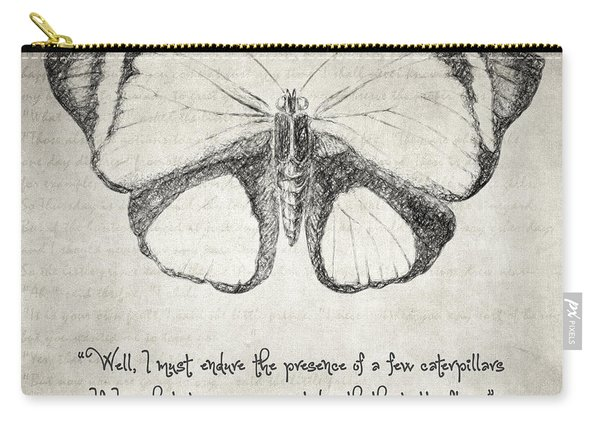 Butterfly Quote - The Little Prince Carry-all Pouch