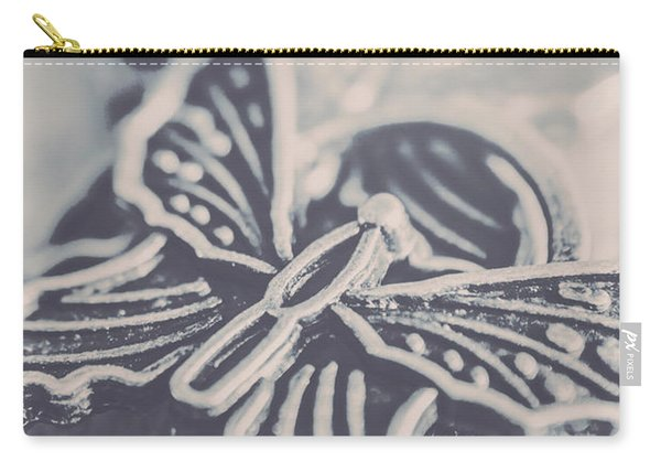 Butterfly Shaped Charm Carry-all Pouch