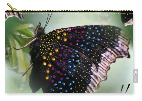 Butterfly Sunbath #2 Carry-all Pouch