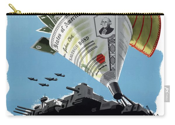 Buy War Savings Bonds Carry-all Pouch