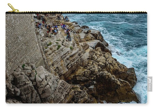 Buza Bar On The Adriatic In Dubrovnik Croatia Carry-all Pouch