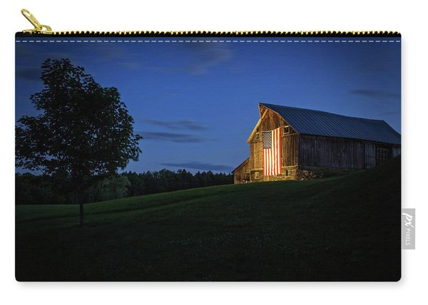 Old Glory By Dusks Early Light Carry-all Pouch