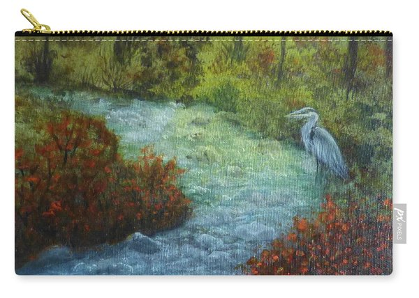 By The Brook Carry-all Pouch