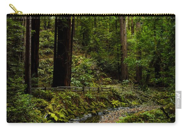 By The Stream In Muir Woods Carry-all Pouch