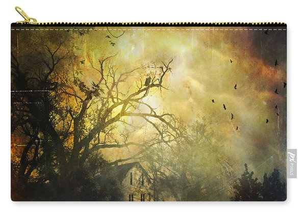 Bygone House On The Hill Carry-all Pouch