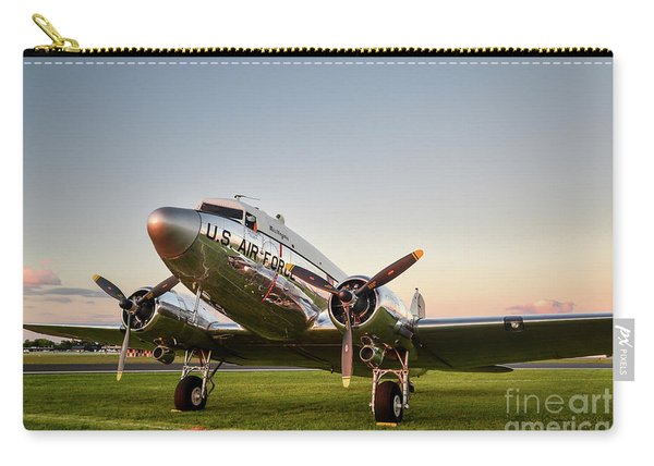 C-47 At Dusk Carry-all Pouch