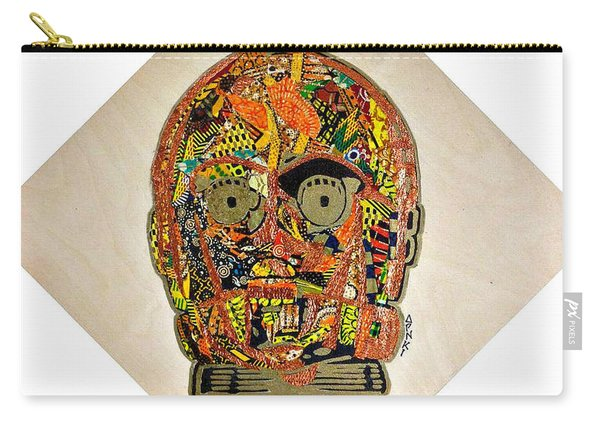 C3po Star Wars Afrofuturist Collection Carry-all Pouch