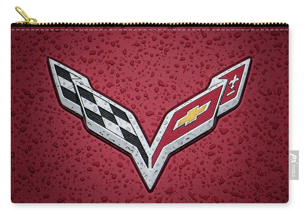 C7 Badge Red Carry-all Pouch