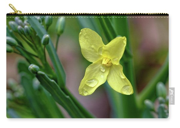 Cabbage Blossom Carry-all Pouch