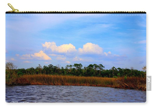 Cabbage Palms And Salt Marsh Grasses Of The Waccasassa Preserve Carry-all Pouch