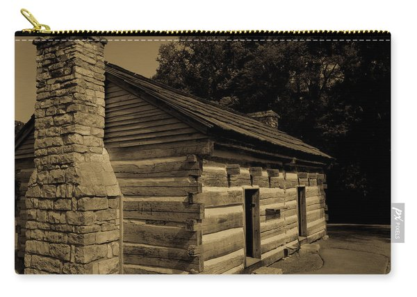 Cabin At The Hermitage Carry-all Pouch