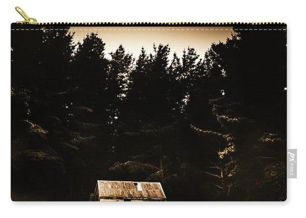 Cabin In The Woodlands  Carry-all Pouch