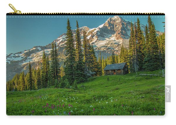 Cabin On The Hill Carry-all Pouch