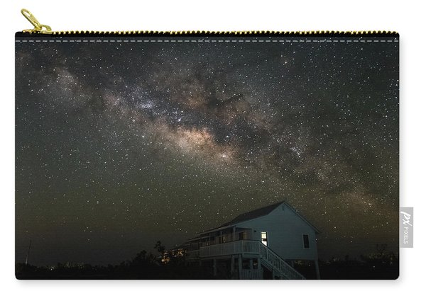 Cabin Under The Milky Way Carry-all Pouch