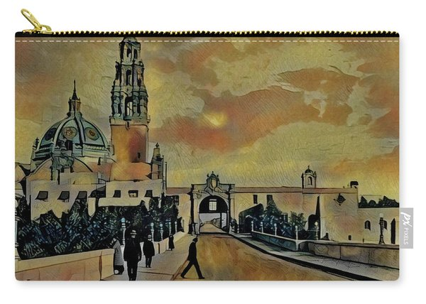 Cabrillo Bridge And Museum Of Man Carry-all Pouch