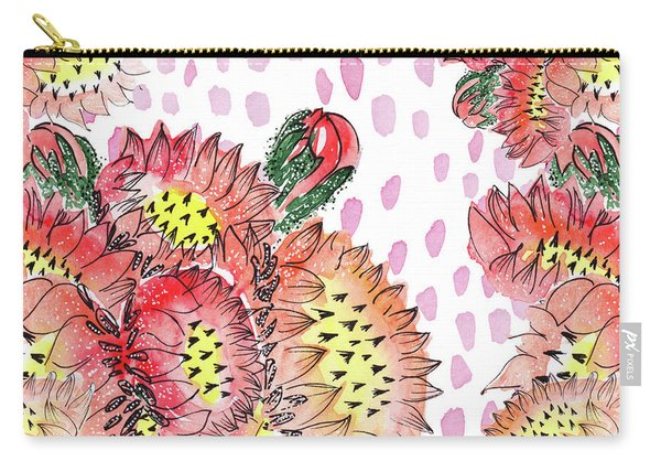 Cacti Flowers Carry-all Pouch