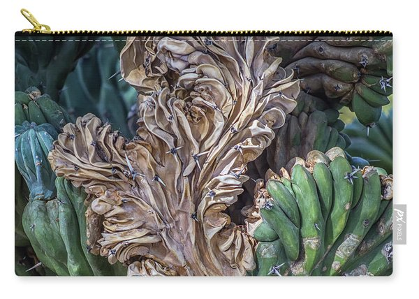 Cactus Abstract 5744-041018-1cr Carry-all Pouch