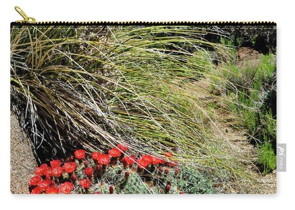 Crimson Barrel Cactus Carry-all Pouch