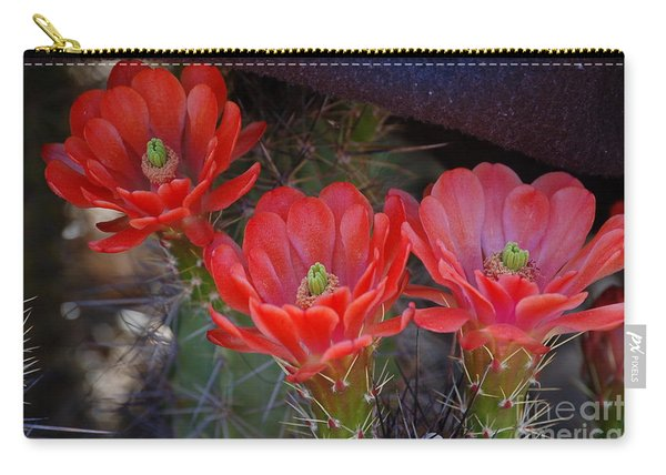 Cactus Flowers Carry-all Pouch