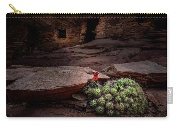 Cactus On Fire Carry-all Pouch