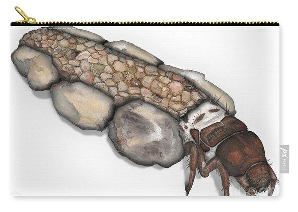 Caddisfly Larva Nymph Goeridae_silo_pallipes -  Carry-all Pouch