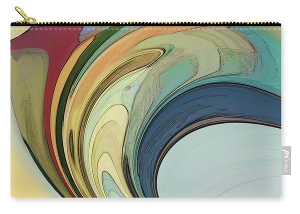 Carry-all Pouch featuring the digital art Cadenza by Gina Harrison