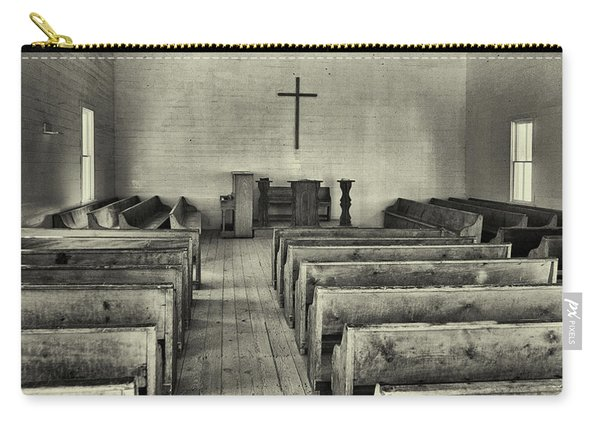 Cades Cove Methodist Church Carry-all Pouch