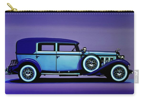 Cadillac V16 1930 Painting Carry-all Pouch