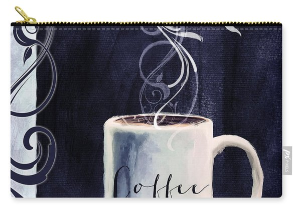 Cafe Blue I Carry-all Pouch