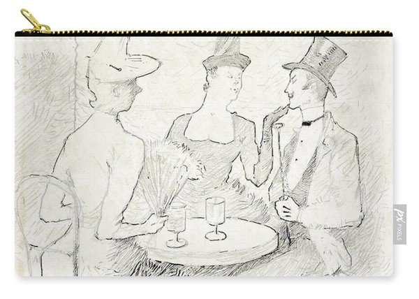 Cafe-concert A Montmarte Carry-all Pouch