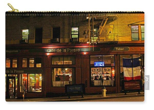 Cafe De La Presse On Bush St Carry-all Pouch