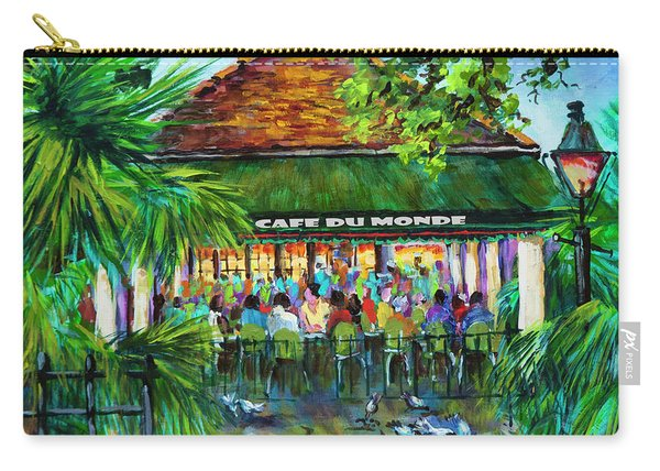 Cafe Du Monde Morning Carry-all Pouch