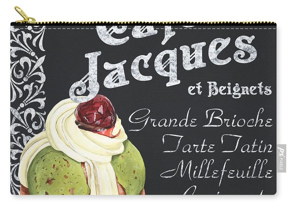 Cafe Jacques Carry-all Pouch