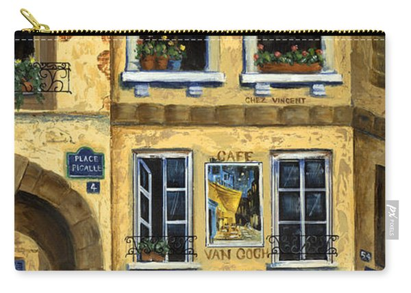 Cafe Van Gogh Paris Carry-all Pouch