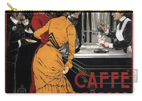 Caffe Espresso Servizio Istantaneo - Vintage Advertising Poster Carry-all Pouch