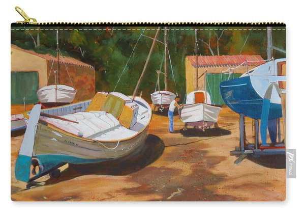 Cala Figuera Boatyard - I Carry-all Pouch