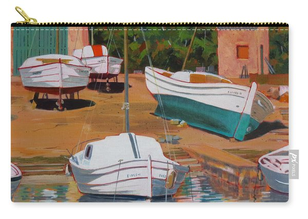 Cala Figuera Boatyard - II Carry-all Pouch